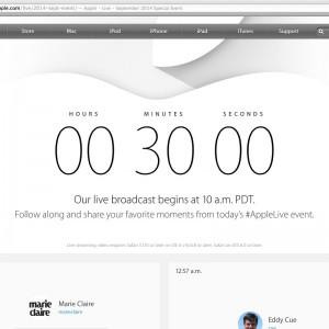 【iPhone6・iPhone6Plus・AppleWatch】Apple発表会。気付いたらスクリーンショット1000枚撮ったったった、その1