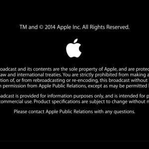 【iPhone6・iPhone6Plus・AppleWatch】Apple発表会。気付いたらスクリーンショット1000枚撮ったったった、その4